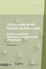 Les relations entre pouvoirs adjudicateurs