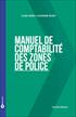 Manuel de comptabilité des zones de police